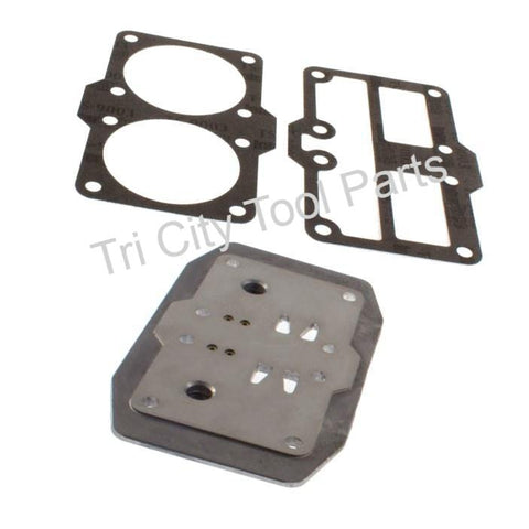 043-0180 Valve Plate Assembly 753H , 755H Air Compressor Pump Coleman / Sanborn
