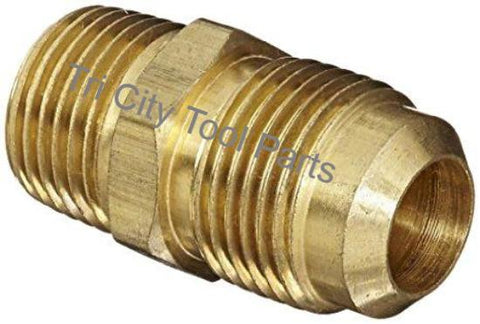 121-1008 Jenny Brass Flare Fitting , Emglo