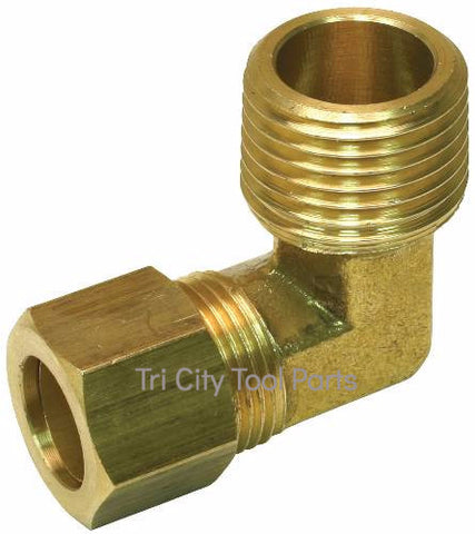 "121-1035 Jenny / Emglo Elbow Fitting 3/8"" X 3/8"""