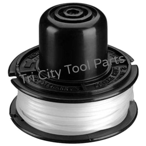 143684-01 Black & Decker Trimmer Replacement Spool W/ Line  RS-136