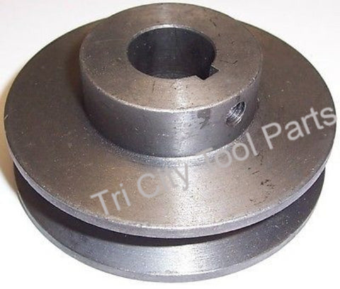 "PU015400AV  Air Compressor  Motor Drive Pulley   3.0"" X 3/4"" Bore  A Section"