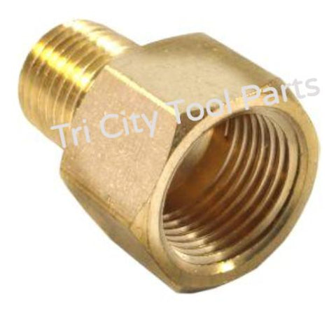 Heater Air Pressure Gauge Adapter 1/4