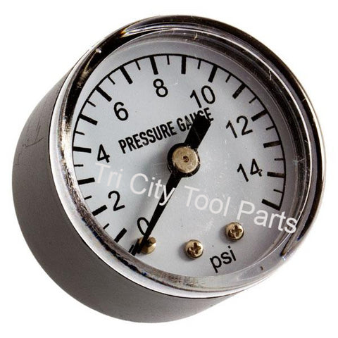 70-025-0100 Heater Air Pressure Gauge ProTemp Pinnacle