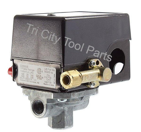 5140112-32 Air Compressor Pressure Switch  D20645  135/110  Craftsman  Devilbiss