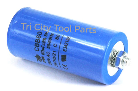 32-0972  Capacitor , MI-T-M Air Compressor  60UF