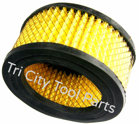 A03957 Porter Cable   Air Compressor  Air Filter Element Craftsman DeVilbiss
