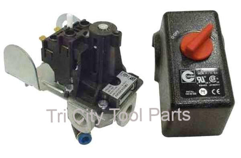 CW209300AV Air Compressor Pressure Switch 135/100 PSI Campbell Hausfeld