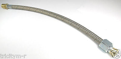 EMG145NC Emglo Compressor Steel Braided Aftercooler Line Replaces 610-1078 Pre 1992