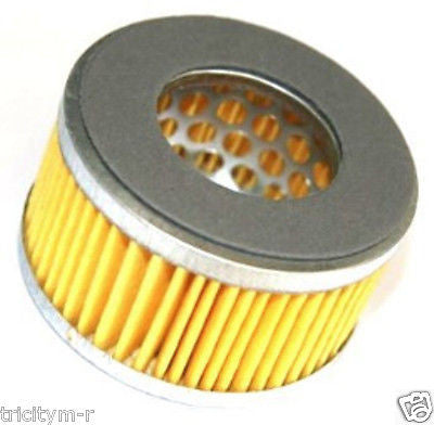 "CF412M Air Compressor Air Filter  4"" Metal  W/ Pleated Paper Element 1/2"" NPT"
