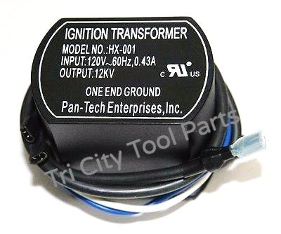 115860-01 / 2138NR Igintor Transformer Forced Air Oil Heaters   HX-001