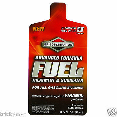 100120 Briggs & Stratton Advanced Formula Fuel Treatment & Stabilizer