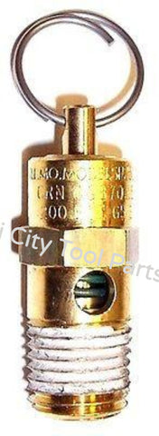 TIA-4200 Safety Valve 200 PSI  Air Compressor Craftsman  Porter Cable  B&D  Devilbiss