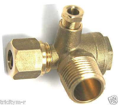 9048075 / 9048053 Husky Air Compressor 90deg Check Valve