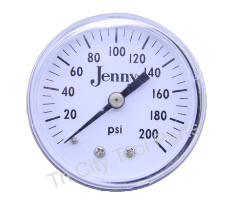 142-1000 Gauge Jenny Air Compressor Gauge 2