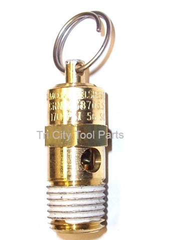 5140119-54 Safety Valve DeWalt / Porter Cable Air Compressor  1/4