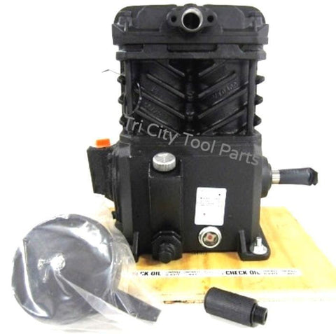 VT4923 Campbell Hausfeld Cast Iron Air Compressor Service Pump  With Flywheel VT4723 / VT2030