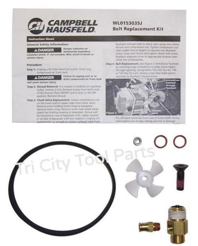 WL015303SJ Belt Kit  Campbell Hausfeld / Husky