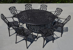 Hilton 9pc Dining Set
