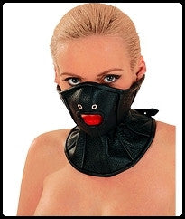 Leather Half Face, Open Mouth