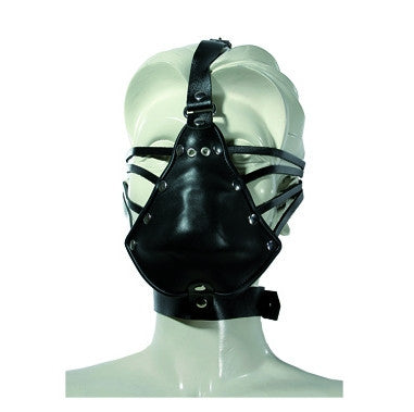Leather Face Hugger Mask