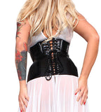 Sheer White Corsetted Datex Dress