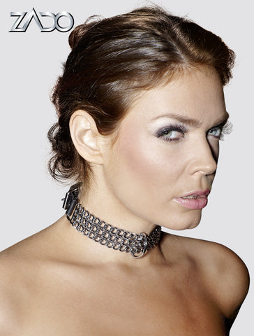 Metal Chain Link Collar