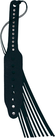 Black Leather Paddle, Studded