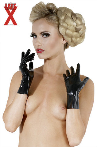 Short Latex Gloves