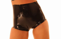 Latex Panty, High Waisted, Cutout Design