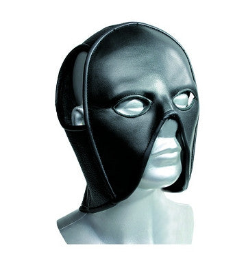 Molded Leather Mask, Open Nose & Mouth