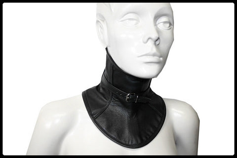 Leather Collar, Front Buckle