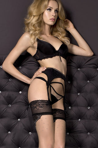 Garter Belt With Thong