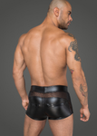 Shorts made of powerwetlook and 3D net