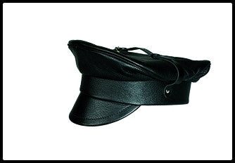 Leather Cap Top Buckle