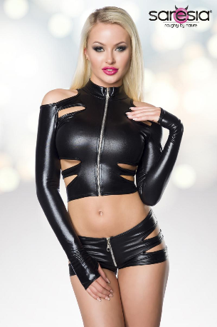Wetlook Short Set