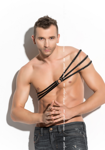 Male 3 Band Chest Harness
