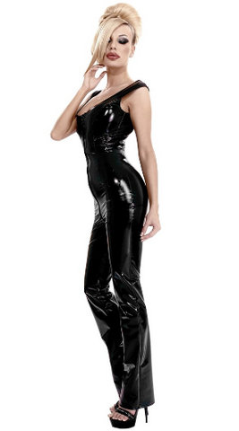 Datex Catsuit With Front to Back Zipper