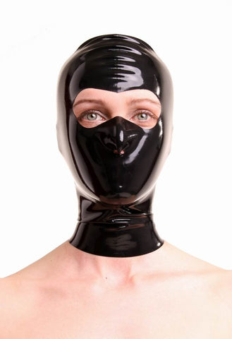 Latex Mask With Open Eye Area & Nostrils