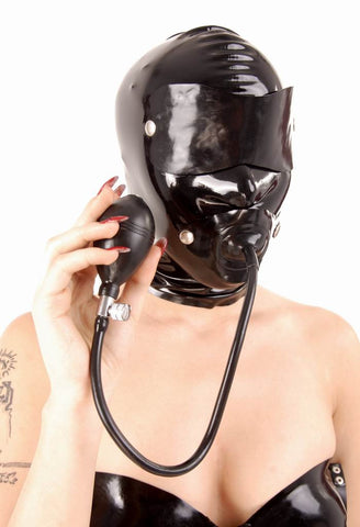 Latex Hood with Several Different Looks