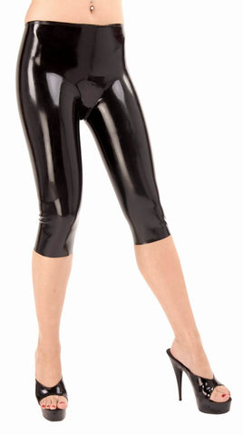 12'' Legged Latex Shorts