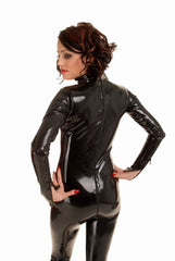 Bodysuit with Molded Cups, 3 Zippers