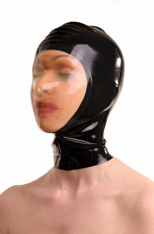 Latex Hood, Contrasting Face Area