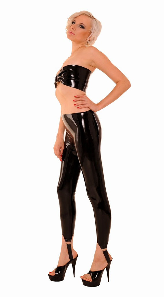 Stirrup Leggings .4mm Latex