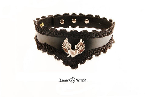 Flying Heart Choker