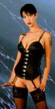 Leather Corset, Riveted Front