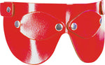 Leather Eye Mask, Snap On Eye Covers