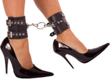 Leather Connecting Ankle Cuffs