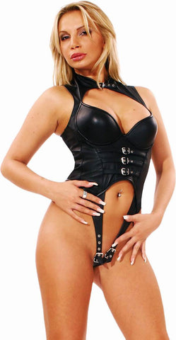 LE5326; Leather Body Harness