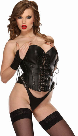 LE5520; Leather Body Harness Set