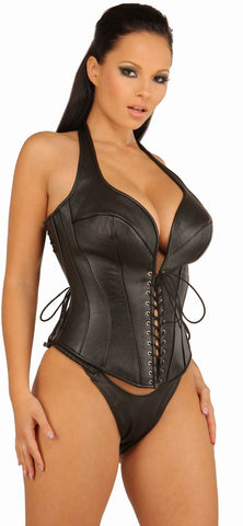 LE5545; Leather Body Harness Set